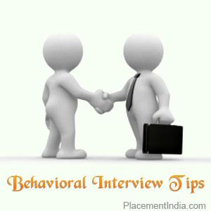 behaviorial interview