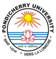 Pondicherry University logo