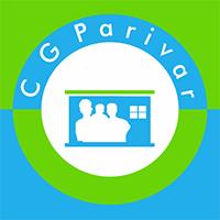 CG Parivar logo