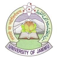 Jammu University logo