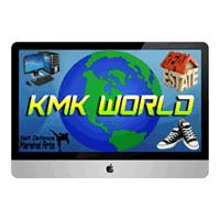 KMK WORLD logo