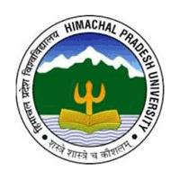 Himachal Pradesh University logo