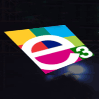 E 3 integrted logo
