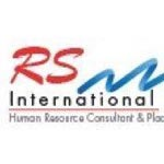 R S International Logo