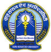Guru Nanak Dev University Company Logo