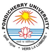 Pondicherry University Company Logo