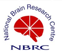 National Brain Research Centre logo