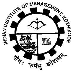 Indian Institute of Management Kozhikode Company Logo