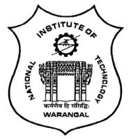 National Institute of Technology Warangal Company Logo