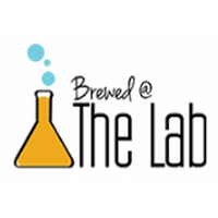 Brewed at the lab logo