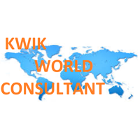 kwik  world consultant logo