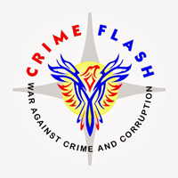 Crime flash news network logo