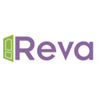 REVA DOORS AND WINDOWS logo