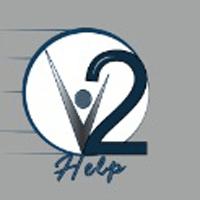 v2help Company Logo