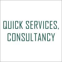 Quick Services Consultancy Company Logo