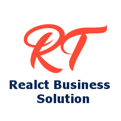 Realct Business Solution Company Logo