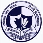 Motilal Nehru College Company Logo
