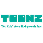 TOONZ THE KIDS STORE THAT PARENTS LOVE logo